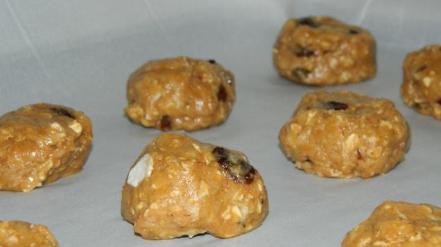 felisrecipes-No butter granola cookies