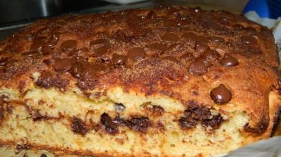 Sourcream chocolate chips coffee cake (2)