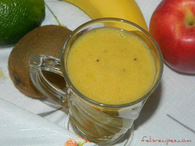 pinepple-kiwi-smoothie-2