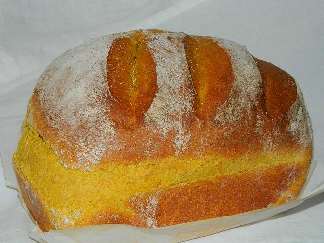 Turmeric loaf