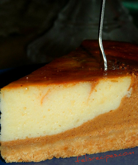 pumpkin cheese cake 3