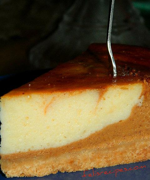 pumpkin cheese cake 3