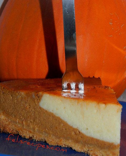 pumpkin cheese cake 4