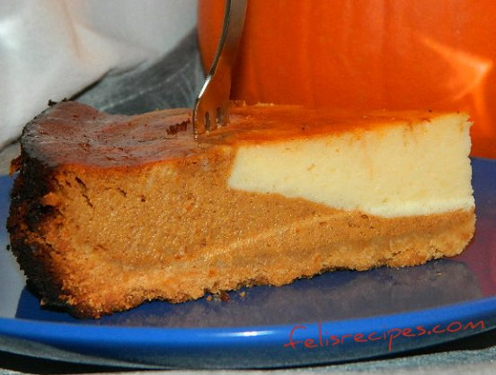 pumpkin cheese cake 5