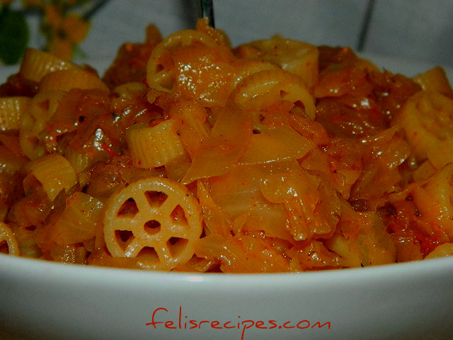 Pasta w Cabbage 3 A