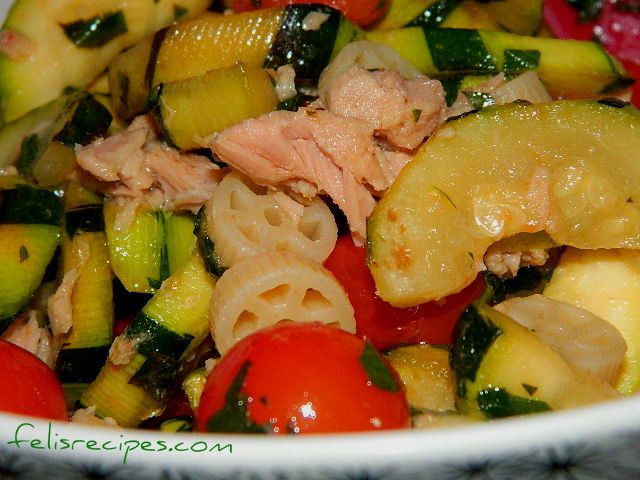 Tuna Pasta salad 4